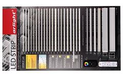 Стенд Светодиодные Ленты RT-LUX-1100x600mm (DB 3мм, пленка, лого)