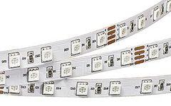 Лента RT 2-5000 24V Red 2x (5060, 300 LED, LUX)