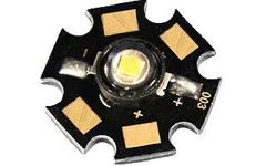 Мощный светодиод ARPL-Star-1W UV400