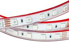 Лента RTW 2-5000P 24V RGB 2x (5060, 300 LED, LUX)