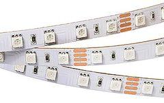 Лента RT 2-5000 24V RGB 2x (5060, 300 LED, LUX)