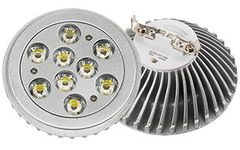 Светодиодная лампа MDS-AR111-9x1W 35deg Warm White 12V