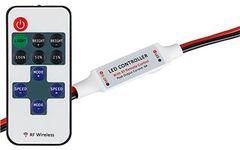 Диммер LN-RF11B-MINI-Wires(12-24V,72-144W,ПДУ11кн)