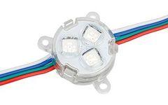 Модуль герметичный ARL-D30-5050x3-DMX RGB 12V Прозрачный