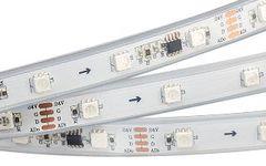 Лента DMX-5000P 24V RGB (5060,180 LEDx6, DMX)