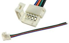 Коннектор выводной FIX-RGB10-1-15cm