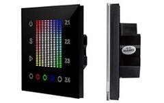Панель Sens SR-2831AC-RF-IN Black (220V,RGB,4зоны)
