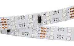Лента SPI-5000SE 12V RGB (5060, 600 LED x3,1812)