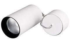 Светильник подвесной SP-POLO-R85-2-15W Warm White 40deg (White, Black Ring)