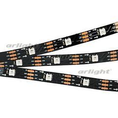 Лента SPI-5000-AM 5V RGB (5060, 150 LED x1, 2812, Black)