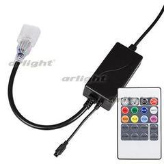 Контроллер RA-CF5060-RGB-3x1.5A (220V, ПДУ IR Карта)