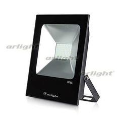 Светодиодный прожектор AR-FLAT-ICE-50W-220V White (Black, 120 deg)