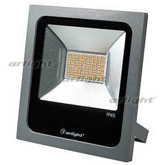 Светодиодный прожектор AR-FLAT-50W-220V Yellow (Grey, 120 deg)